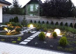 lampy ogrodowe w ogrodzie Poznań
