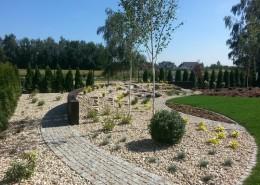 projekt ogrodu z kaskada w poznaniu