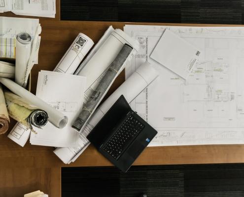 rysunek architekta