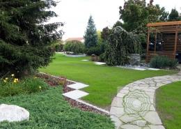 projekty nowoczesne ogrody